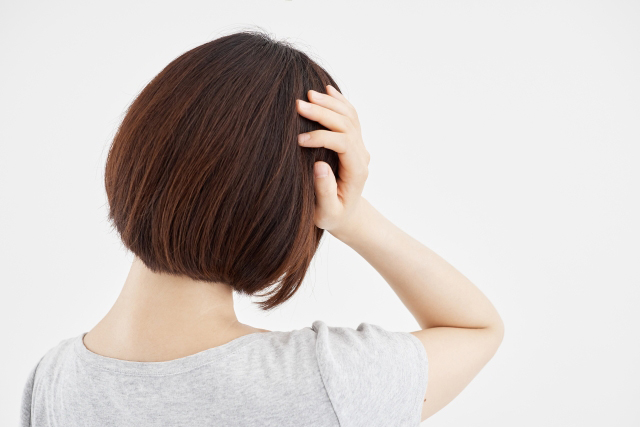 夫の浮気に対して、決定的な証拠が欲しいと思っている岡山市の女性の写真