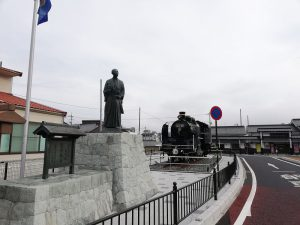 岡山市の探偵が津山駅周辺で張り込み