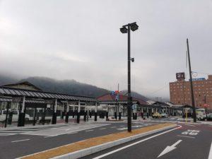 岡山県津山市のJR津山駅にて探偵の張り込み01